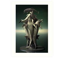 Wonderous Dolphins Art Print
