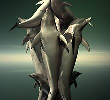 Wonderous Dolphins by Lisa  Weber