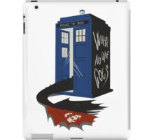 Where no one goes iPad Case/Skin