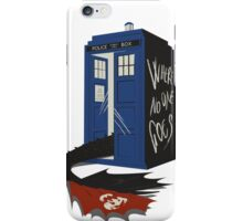 Where no one goes iPhone Case/Skin