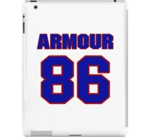 National football player Justin Armour jersey 86 iPad Case/Skin