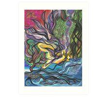 Angel & Serpent Art Print