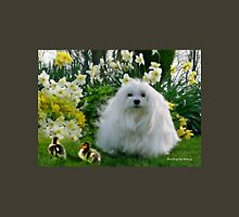 Snowdrop the Maltese at Easter Unisex T-Shirt