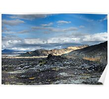 Iceland - Landmannalaugar Poster