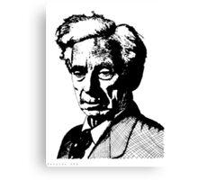 Bertrand Russell Canvas Print