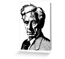 Bertrand Russell Greeting Card