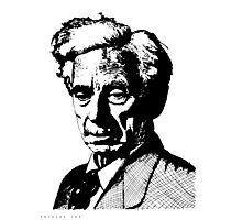 Bertrand Russell Photographic Print
