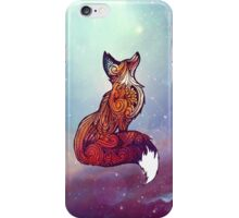 Space Fox iPhone Case/Skin