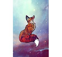 Space Fox Photographic Print