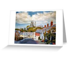 Corfe Castle, Dorset Greeting Card