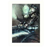 Electriarch 2.0 Art Print