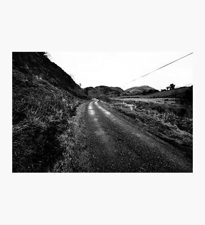 The Long Road Photographic Print