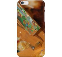 Abstract of a artists easel  iPhone Case/Skin