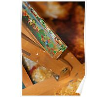Abstract of a artists easel  Poster