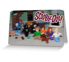 LEGO Scooby Doo! Greeting Card