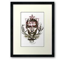 The Lone Star Framed Print