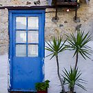 Blue doorway by kevomanno