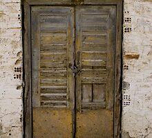 Old door by kevomanno