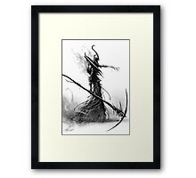 Death Lord Framed Print