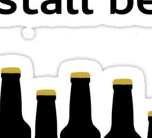 Linux sudo yum install beer Sticker