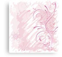pink grunge Canvas Print
