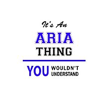 It's an ARIA thing, you wouldn't understand !! by allnames