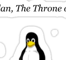 The Answer to Every Problem Involved Penguins Sticker
