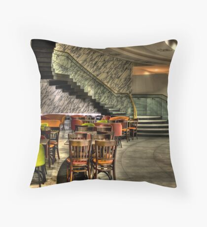 Seats Under Stairs Throw Pillow