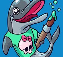 Artistic Dolphin 2 by artdyslexia