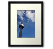 watch in the sky Framed Print