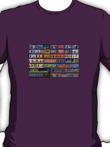 Maniac Mansion rooms T-Shirt