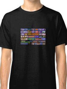 Maniac Mansion rooms Classic T-Shirt