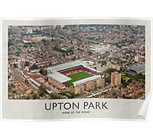 Vintage Football Grounds - Upton Park (West Ham United FC) Poster