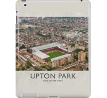 Vintage Football Grounds - Upton Park (West Ham United FC) iPad Case/Skin