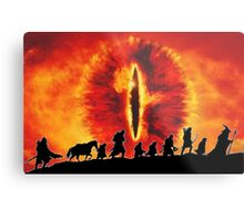 The Fellowship are Being Watched Metal Print