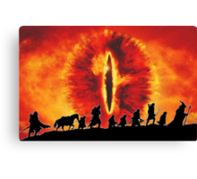 The Fellowship are Being Watched Canvas Print