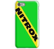 Nitrox  iPhone Case/Skin