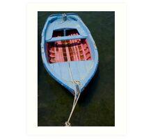 Fancy dinghy Art Print