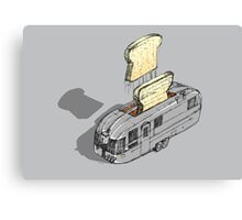 mobile toaster ready to serve - part one Canvas Print
