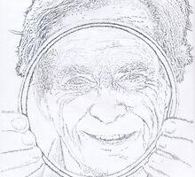 Richard Feynman Pencil by SecularInk