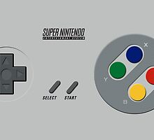 SNES Controller by Revoltec17