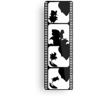Film stripe with fairy tale Metal Print