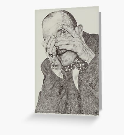 'Guess Who?' Greeting Card