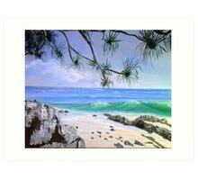 Noosa Seaside Art Print