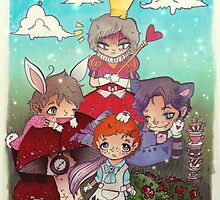 Cabin Pressure In Wonderland by Ruby Sparrow