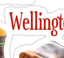 bollocks to the wellingtons Sticker