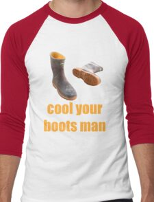 cool your boots Men's Baseball ¾ T-Shirt