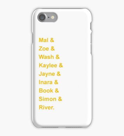 Serenity's Crew iPhone Case/Skin
