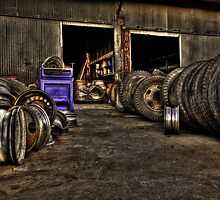 Tires & More Tires by Ben Pacificar