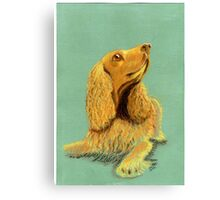 Did someone say 'biscuit'? Canvas Print